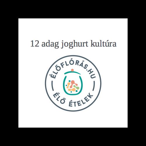 Natur joghurt, 12 adag
