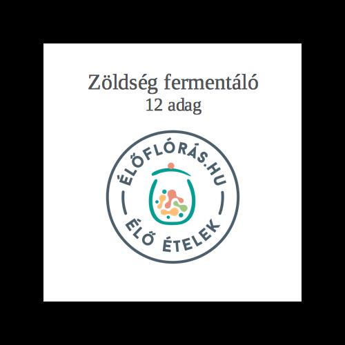 zöldség-gyümölcs savanyító, fermentáló 12 adag